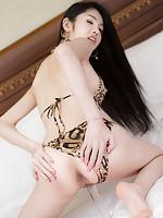 Slim supermodel Tukta shares her puffy Thai post-op muff